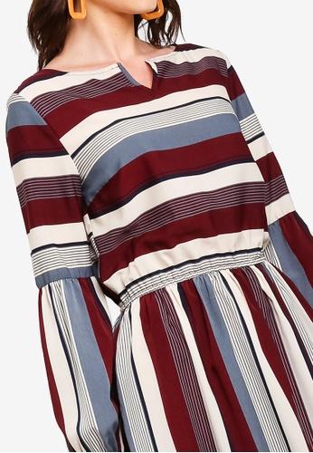 Buy Zalia Panel Peasant Dress Online