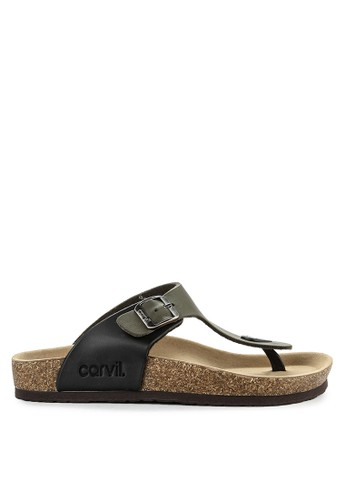 CARVIL green and multi Sandal Casual Men Clifton-01M B274FSH933019BGS_1