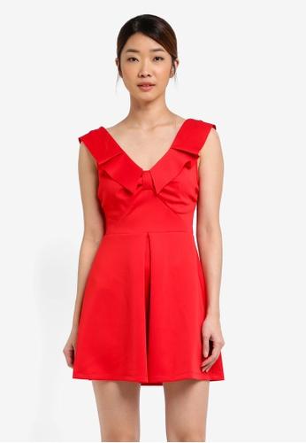 Buy Miss Selfridge Cny Scuba Prom Dress Online On Zalora Singapore