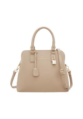 Valentino Creations beige Valentino Creations Merlyn Handbag 5216EAC6F60C75GS_1