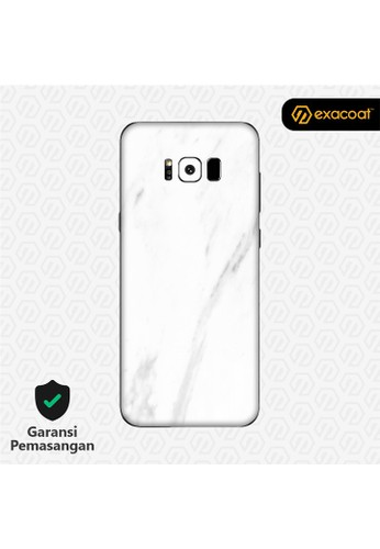 Exacoat Galaxy S8+ Skins Marble White - Cut Only F5FE3ESC399A3AGS_1
