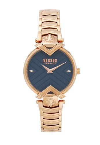 Versus gold Versus Versace Mabilion VEVSPLH0819 - Jam Tangan Wanita - Navy Dial A29C6AC327AC12GS_1