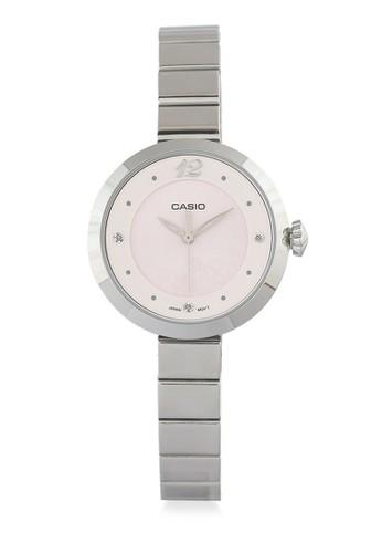 Casio pink and silver Casio Women LTP-E154D-4ADF Silver Pink 6926BAC79A1622GS_1