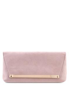324a4e142 Dorothy Perkins pink Blush Envelope Clutch 361DEAC6391ADBGS 1