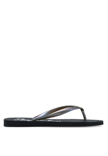 Superdry black Super Sleek Flip Flop 0E79FSH98735AEGS_1