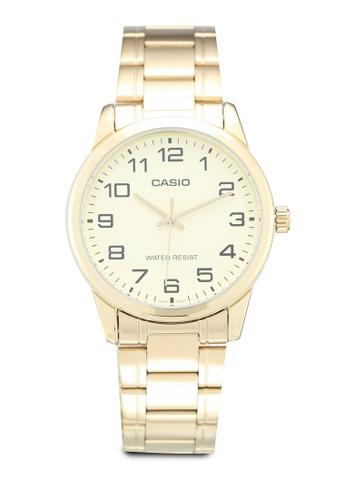 d2911111f01 Shop Casio Casio MTP-V001G-9BUDF Watch Online on ZALORA Philippines