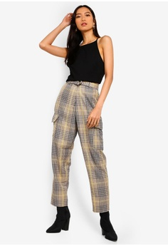 11b399d8ecb 30% OFF French Connection Aishah Belted Hgh Waist Trousers S$ 180.90 NOW S$  126.63 Sizes 6 8 10 12