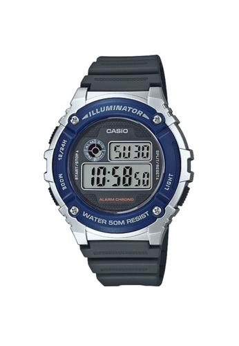 CASIO grey CASIO WATCH W-216H-2AVDF CCA71ACB5B9294GS_1