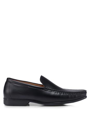 Bata black Slide-On Loafers 5EEA4SHDA4DB44GS_1
