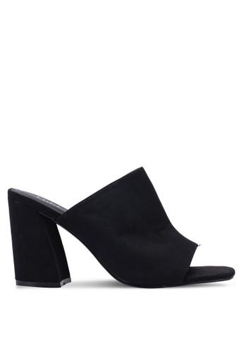 Rubi 黑色 高跟穆勒鞋 69D0BSH87D491DGS_1