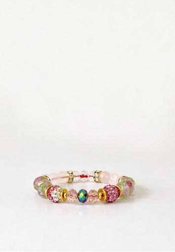 MADISON INC pink Madison Inc's Blossom Bracelet 4E7A8AC30AF38CGS_1