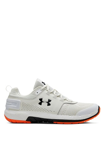 Under Armour white UA Commit Tr Ex Shoes C5DDESH6E873B6GS_1