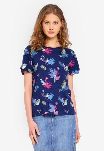 ESPRIT blue Short Sleeve T-Shirt D35ADAA034758BGS_1