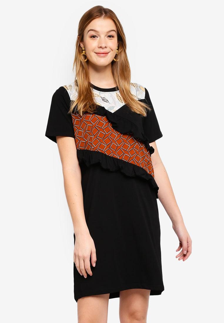 Black Dress Nam Haute Kelly Kyu 8Bqw4