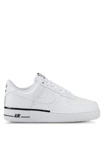 Nike white Men's Nike Air Force 1 '07 Shoes NI126SH0STRXMY_1
