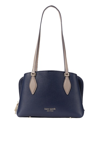 KATE SPADE blue Kate Spade Zeezee Small Tote Bag In Blazer Blue Multi PXR00049 64332ACD2E9A49GS_1