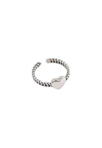 A-Excellence silver Premium S925 Sliver Geometric Ring 6DABAAC7F852EAGS_1