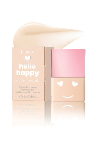 Benefit beige Hello Happy Soft Blur Foundation Mini Shade 01 F3639BEBA4C3C1GS_1
