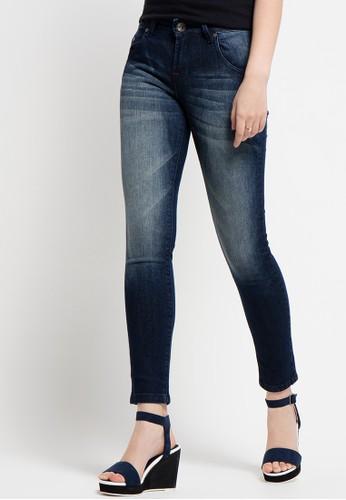 DocDenim blue Women'S Merlin Skinny Fit Jeans Pants DO336AA27LPWID_1