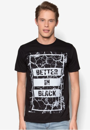 Better In Black T 恤, 服飾, esprit au服飾