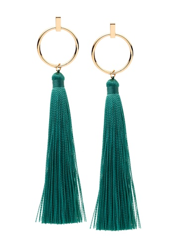 Pastiche gold Palm Earrings 4908DAC638ACE4GS_1