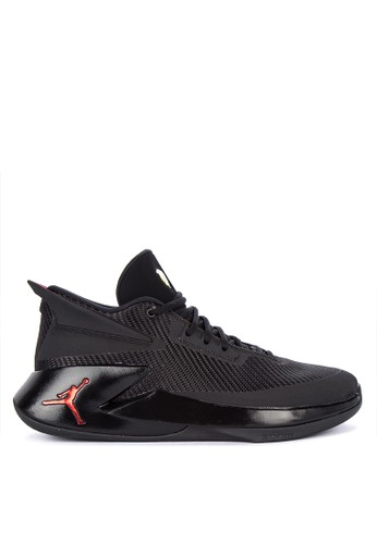 Nike black Jordan Fly Lockdown Shoes 89994SHCF34119GS_1