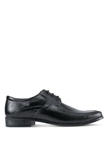 Rocklander black Lace Up Dress Shoes RO978SH0SMMAMY_1
