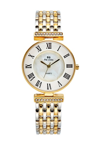 Bee Sister gold Japan Design Japan Movement Bee sister Pearl Watches AC2DEAC3C3530BGS_1