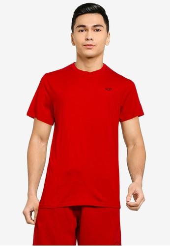 Hollister red Crew Neck T-Shirt 91D7AAA43F3369GS_1
