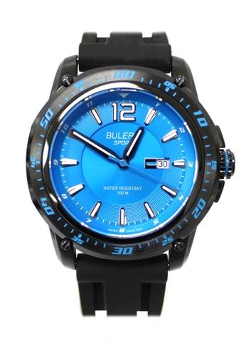Buler blue Buler Sport Watch - Blue - Gents - Date- 3H BU689AC2VG11HK_1