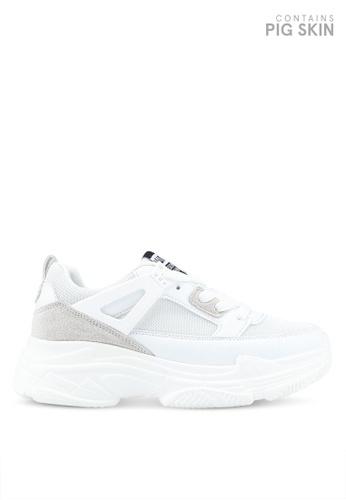 Twenty Eight Shoes white Triple Layers Sneakers 62F7BSHB652B26GS_1