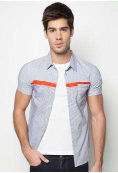 Boys Slim Fit Shortsleeve Shirt