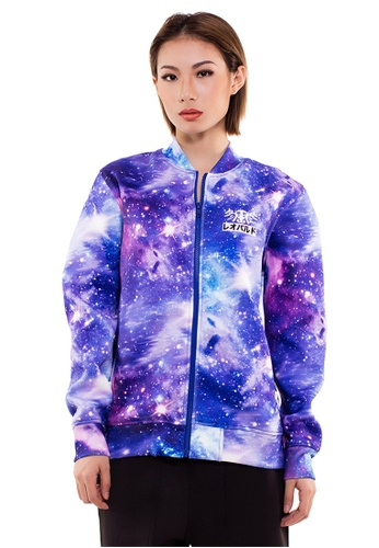 Reoparudo multi RPD Space Print Neoprene Bomber Jacket (Limited Edition) B470EAACB0A88BGS_1