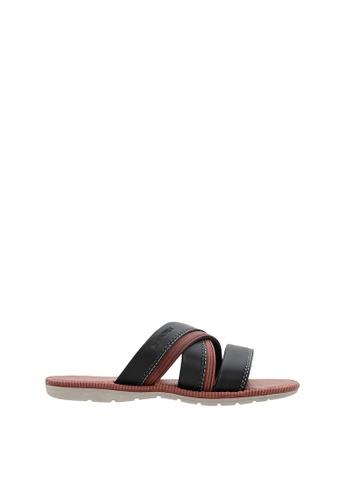 SEMBONIA red Men Synthetic Leather Sandal SE598SH0SZ8OMY_1