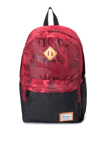Transgear red Backpack 243-TGBP TR281AC0IQNRPH_1