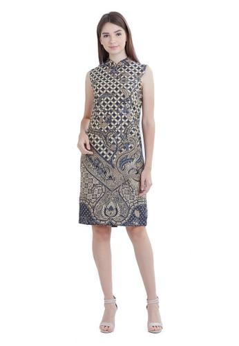 Mahogany Batik white ANAHARA DRESS WITH BEADS A3F78AA0066F40GS_1