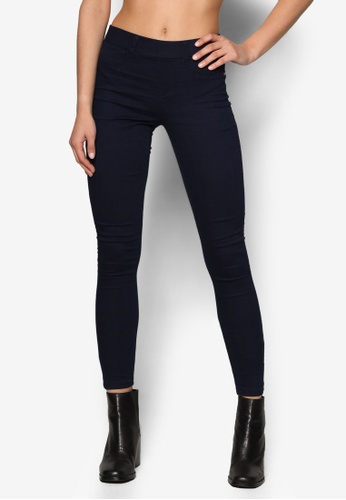 Dorothy Perkins blue Regular Indigo Eden Jeggings DO816AA37EASMY_1