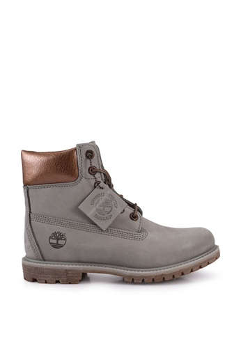 Timberland grey 6-Inch Premium Waterproof Boots 39E34SH52973B9GS_1