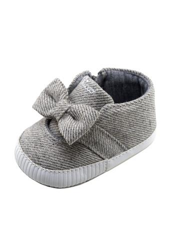 Chicco grey Ofelia Infant Shoes 68B11KS57A8102GS_1