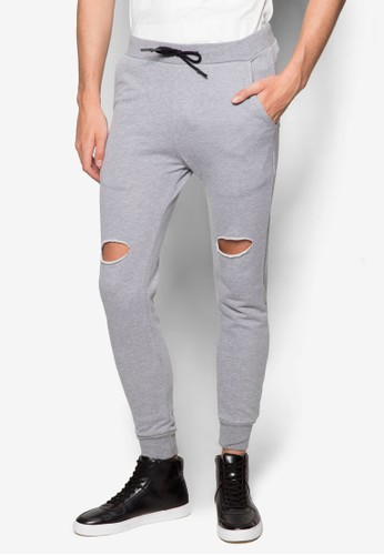 Garona 刷破運動長褲,esprit 床上用品 服飾, 長褲