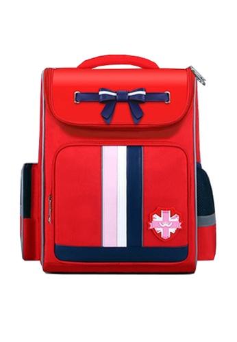 Twenty Eight Shoes red VANSA Pu Nylon Backpacks VAK-Bp6302 A38F0KCACBFE9AGS_1