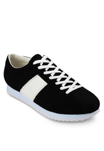 撞色條紋esprit地址繫帶休閒鞋, 鞋, 鞋