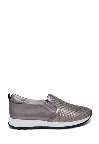 PAZZION grey Sport Lux Loafer PA624SH0SXT6MY_1