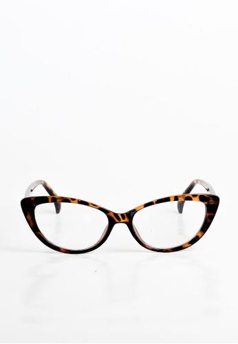 joystyx brown Tippy Specs Leopard JO909AC22IVDPH_1