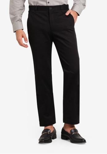 Kent & Crew black Cotton Pants KE579AA0RJRTMY_1