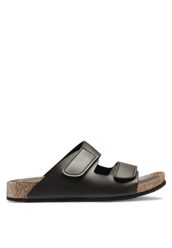 Bata brown Slip On Sandals B40BESH67A414CGS_1