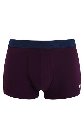 BOSS purple Logo Trunks - BOSS Bodywear EA201US799D8FFGS_1