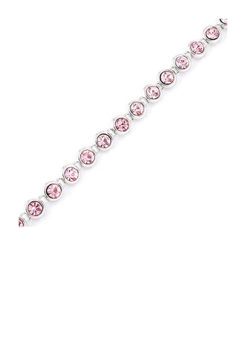 Glamorousky pink Cutie Dots Bracelet with Pink Austrian Element Crystals E34AAACA911DFEGS_1
