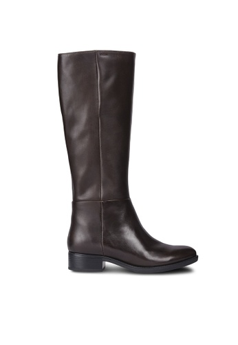 Geox brown Felicity Boot F4A5FSH9634E01GS_1
