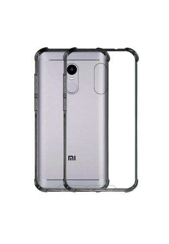MobileHub grey German Import Shockproof Silicone Clear Case For Xiaomi Redmi Note 4X D4C7EAC54682BCGS_1